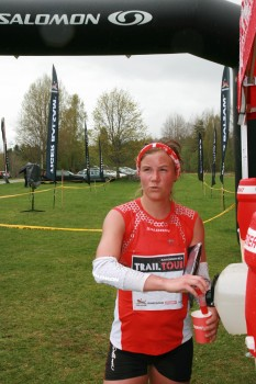 Emilie Forsberg Salomon Trail Team